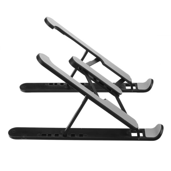 Portable Aluminum Foldable Height Adjustable Stand For Macbook Laptop