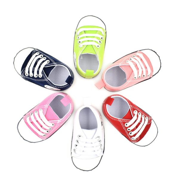Newborn Baby Boys Girls First Walkers Toddler Soft Sole Anti-slip Shoes