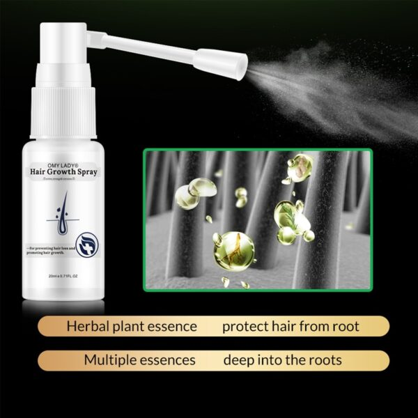 Anti Hair Loss Hair Growth Spray Essential Oil