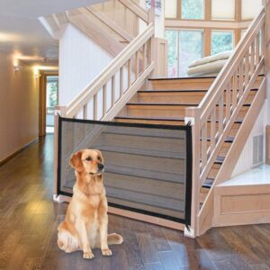 Dog Gate Fence For Indoor and Outdoor
