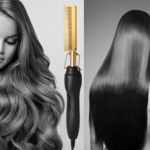 Hair Straightener Multi-Function Comb